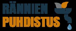 Rännien puhdistus logo